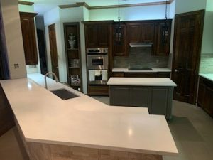 Bella Blanca Quartz Kitchen Countertop 2