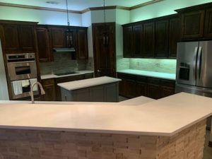 Bella Blanca Quartz Kitchen Countertop 4