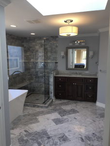 Granite Installation Project