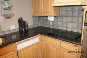 Cafe Brown Granite Kitchen Countertops
